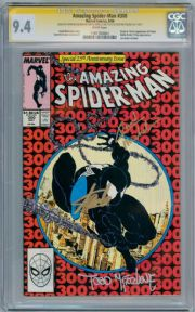 Amazing Spider-man #300 CGC 9.4 Signature Series Signed x 3 Stan Lee Venom Marvel comic book